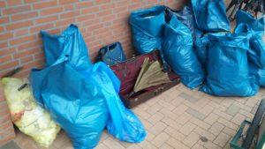 USD organisiert Müllsammelaktion im  März 2019