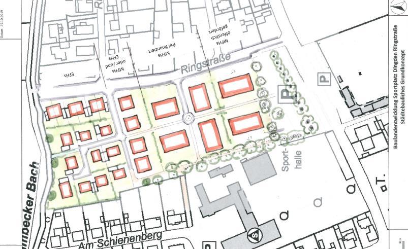 Dingden: Wohnbebauung auf dem Sportplatz Ringstraße