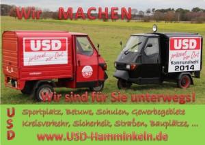 Das USD APE Mobil